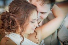 Sweet couple, wedding Royalty Free Stock Photos