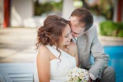 Sweet couple, wedding Stock Image