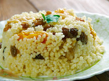Sweet couscous Royalty Free Stock Photography
