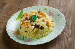 Sweet couscous Stock Photography