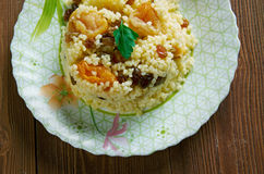 Sweet couscous Royalty Free Stock Photos