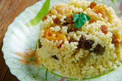 Sweet couscous Royalty Free Stock Images