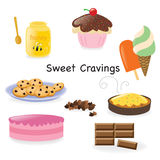 Sweet cravings Stock Photos
