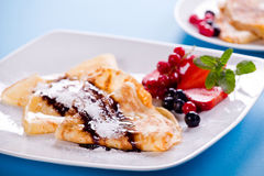 Sweet Crepes Royalty Free Stock Photos