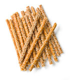 Sweet crispy straw Stock Photo