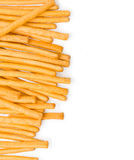 Sweet crispy straw Stock Photography