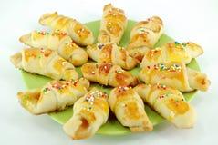 Sweet croissant Stock Image