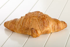 Sweet Croissant with chocolate Stock Photography