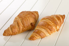 Sweet Croissant with chocolate Royalty Free Stock Photo