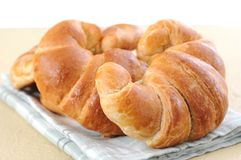 Sweet croissant Royalty Free Stock Image