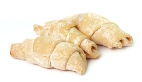 Sweet croissants Stock Images