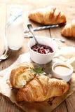 Sweet croissants Stock Photography