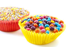 Sweet cup cakes Royalty Free Stock Photography