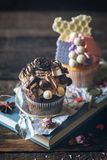 Sweet cup cakes Royalty Free Stock Photo