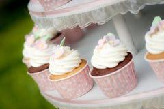 Sweet cupcake Stock Images