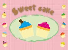 Sweet cupcakes Royalty Free Stock Image