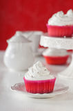Sweet cupcakes with cream Royalty Free Stock Images