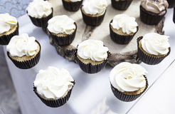 Sweet cupcakes decorated Royalty Free Stock Image