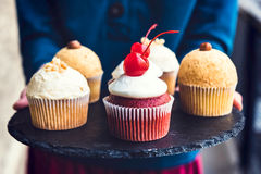 Sweet cupcakes time Stock Photo