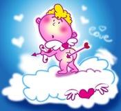 Sweet cupid royalty free illustration