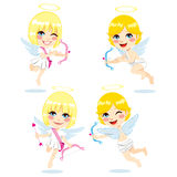 Sweet Cupid Kids Royalty Free Stock Image