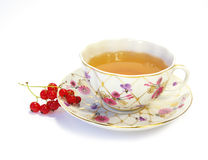 Sweet currant and tea Stock Images