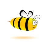 Sweet and cute bee vector illustration Royalty Free Stock Photography