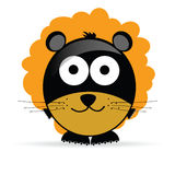 Sweet and cute lion vector illustration Stock Photo