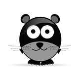 Sweet and cute mouse vector illustration Stock Images