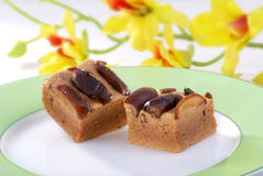 Sweet Date Cubes Royalty Free Stock Photography