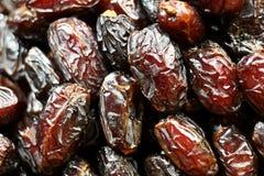 Sweet dates. Arabian sweet; dates as background Royalty Free Stock Photos