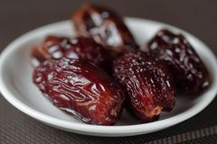 Sweet dates Stock Images