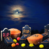 Sweet decorations for the holiday Halloween Royalty Free Stock Image