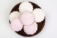 Sweet delicacy of marshmallows Royalty Free Stock Photography