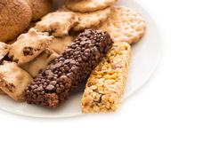 Sweet and delicious biscuits Stock Image