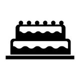 Sweet and delicious cake Royalty Free Stock Image