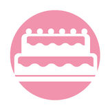 Sweet and delicious cake Royalty Free Stock Photos