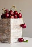 Sweet delicious cherries Stock Photo