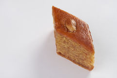 Sweet delicious dessert  baklava with walnuts and honey Royalty Free Stock Images