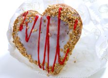 Sweet delicious heart Royalty Free Stock Image