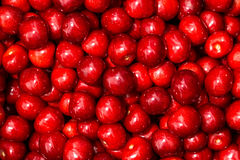 Sweet delicious red cherry Royalty Free Stock Images