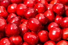 Sweet delicious red cherry Royalty Free Stock Image