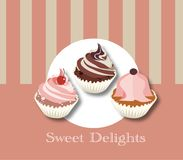 Sweet delights for moments of tenderness stock photography