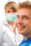 Sweet dentist Royalty Free Stock Images