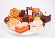 Sweet deserts Stock Photo