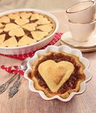 Sweet dessert with apple pie Royalty Free Stock Image