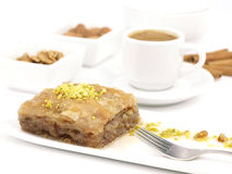 Sweet dessert  baklava Stock Photography