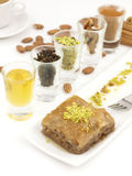 Sweet dessert  baklava Royalty Free Stock Photos