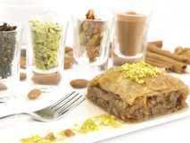 Sweet dessert  baklava Royalty Free Stock Images