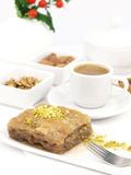Sweet dessert  baklava Stock Photos